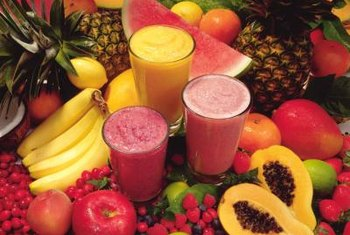Fruit is rich in antioxidants.