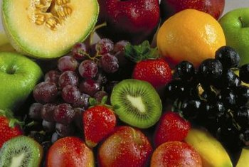 Colorful fruit and veggies are rich in antioxidants.