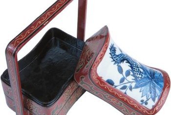 Lacquer finishes are very common on Asian furnishings.