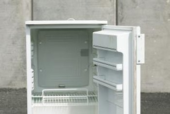 A worn door gasket is often the cause of refrigerator condensation.