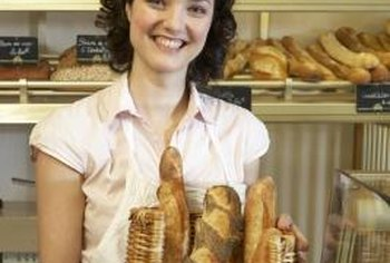 Most breads are made from yeast that helps the dough rise.
