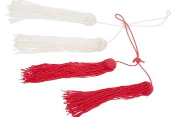 Tassels make great accents on curtains, lamps and even furniture knobs.