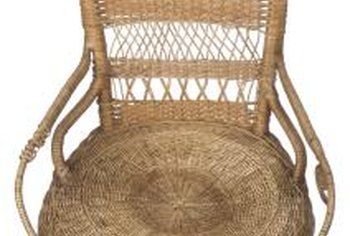 Replacement Fibers Are Available For All Kinds Of Wicker Chair Repairs.