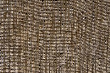 Burlap provides an ideal balance of protection and breathability.