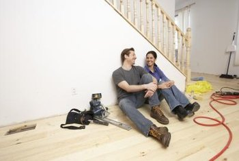 With the right supplies and know-how, you can install a hardwood floor.