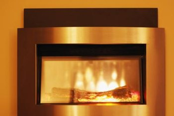 An electric fireplace lets you enjoy the warmth and glow of a fire without the hassle of toting logs and starting a real fire