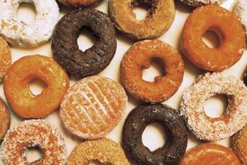 Doughnuts contain carbohydrates but few additional nutrients.