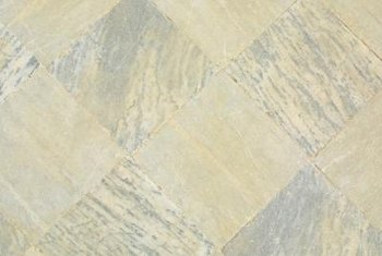 Slate tiles frequently have a mix of colors that can help hide lighter stains.