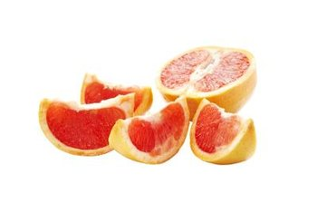Grapefruit peel is rich in the soluble fiber pectin.