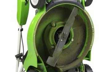 Mower blade removal is a straightforward task.