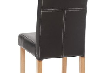 Dining chairs with built-in lumbar support are kind to tired backs.