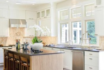 Kitchen islands can increase efficiency if planned correctly.