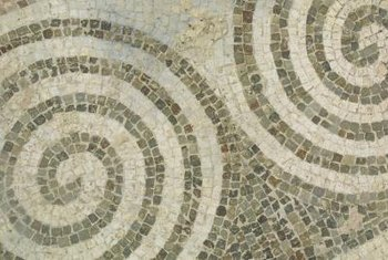 Natural stone tiles can add a designer touch to any room.