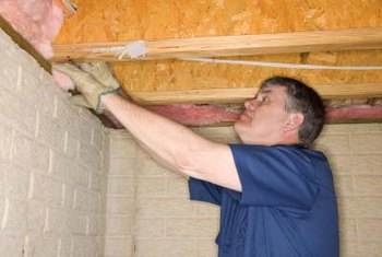 Which way backing faces depends on the part of the home you're insulating.