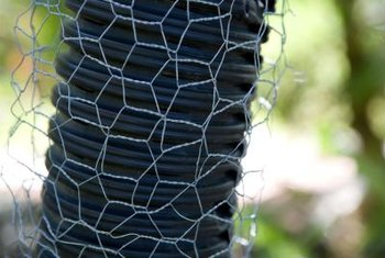 Tree guards are made of different materials, and each offers a different type of protection.