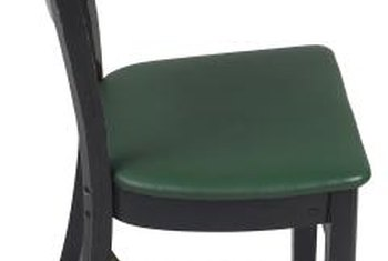 Local thrift stores are an excellent source for inexpensive accent chairs to paint and distress.