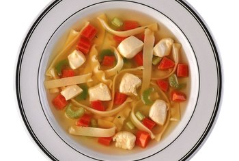 Broth-based soups are best for weight loss.