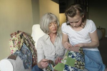 Old quilts reflect practical artistry.