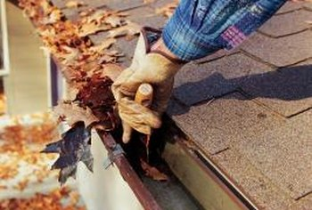 Cleaning your gutters is a messy and dangerous job.