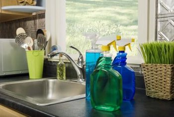 Clean your Cool Mist humidifier near a sink or bathtub.