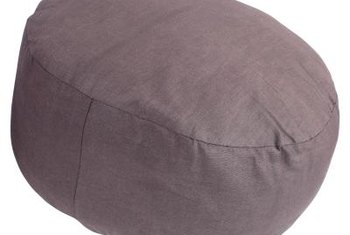Beanbag chairs make suitable seats for lounging, reading, playing video games or taking a nap.