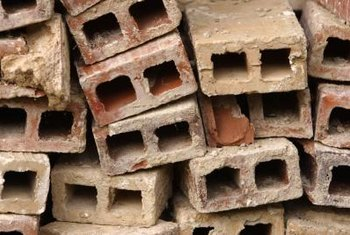 Give broken bricks new life in your yard or garden.