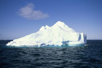 As the Earth gets warmer, glaciers are melting, causing sea levels to rise.