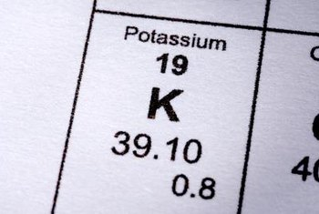 Potassium is a basic element that your body uses to do work.