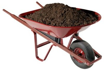 Use excess dirt to enhance current gardens or build new landscape features.