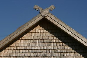 How To Figure Out The Siding Angle For A Gable Home