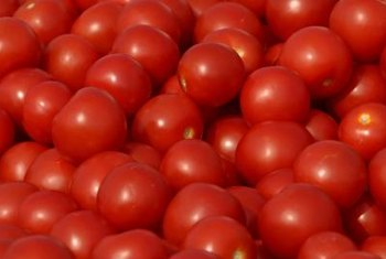 Small grape tomatoes can grow from your own garden-produced seeds.