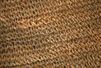 Vacuum seagrass rugs as you would carpet.