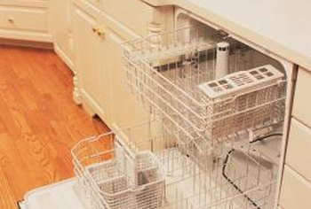Trapped moisture can cause dishwasher mold.