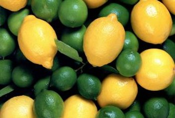 Limes and lemons are complimentary fruit.
