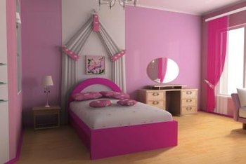 bold bedroom colors. Bold  Girly Bedroom Colors Girls bedroom in pink Home Guides SF Gate