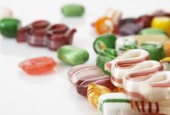 Hard candy can quickly increase your blood sugar if it is too low.