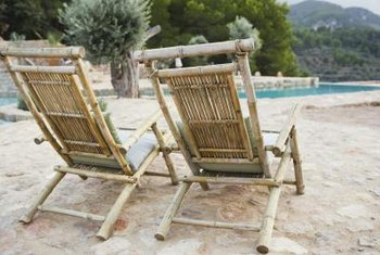Restoring a bamboo chair can be accomplished in a single weekend.