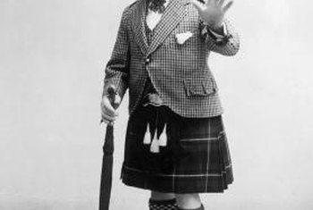 Sir Harry Lauder was known for wearing a kilt and making jokes about Scots.