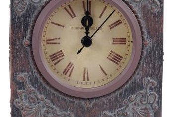 howard miller clocks are easy to identify
