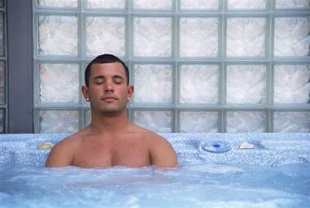 Energy efficient hot tubs have programmable thermostats and controls.