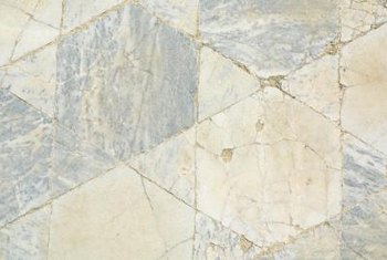Hairline Cracks Add Character To Outdoor Tiles.