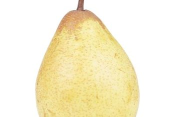"""Bartlett"" pears are one of the parents of ""Harrow Sweet"" pears."