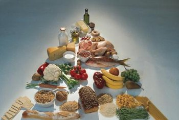 A balanced diet contains a variety of foods from each major food group.