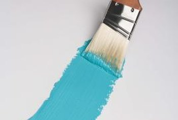 Prepare the trim thoroughly before applying any paint.