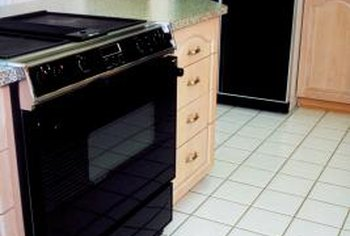 Slide In Stoves Accentuate Island Cabinets.