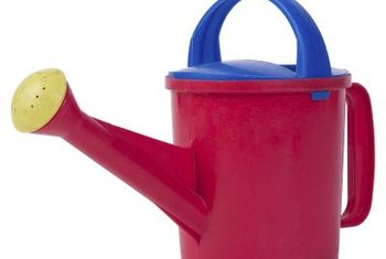 Miracle-Gro takes the guesswork out of dilution rates for a standard watering can.