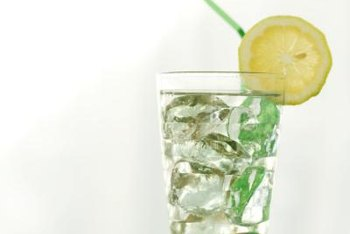 An innocent glass of ice water can create problems on a wood surface thanks to condensation.