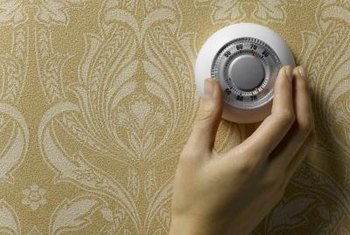 Set your thermostat to 68 degrees Fahrenheit in winter and 78 degrees Fahrenheit in summer.