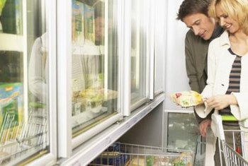 Use a glass-front freezer to make looking easier without opening the door.