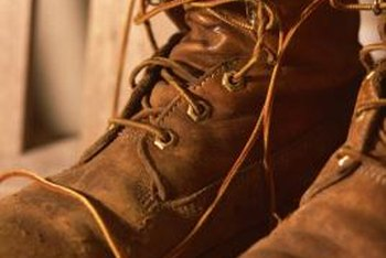 When old boots get worn out, repurposing gives them new life.